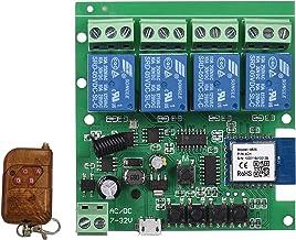 Tuya WiFi + BT 433Mhz Controle remoto inteligente Interruptor sem fio Módulo universal 4ch DC 5V Wifi Switch Timer Telefon...