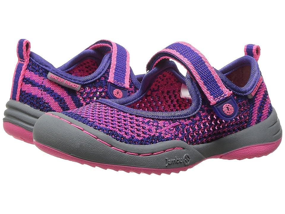 Jambu Kids Sora (Toddler) (Navy/Pink) Girls Shoes