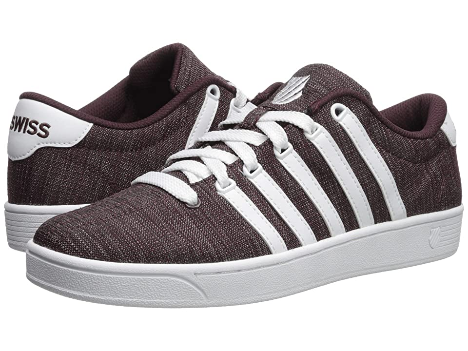K-Swiss Court Pro II T CMF (Rasin/White) Men