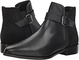 Black Leather/Embossed Leather