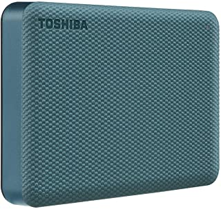 Toshiba Canvio Advance 4TB Portable External Hard Drive USB 3.0, Green - HDTCA40XG3CA