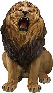 Ebros Giant King of The Jungle African Pride Fierce Roaring Lion Realistic Statue 41