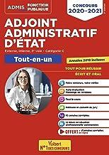 Livres Concours Adjoint administratif d'Etat - Catégorie C - Tout-en-un - Annales 2019 incluses - Concours 2020-2021 PDF