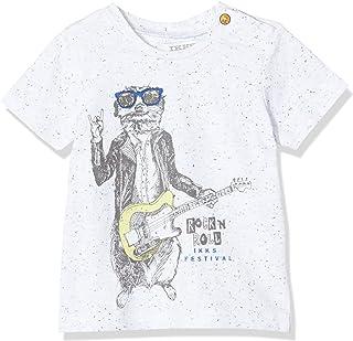 IKKS Junior tee-Shirt Loutre Guitare Camiseta para Bebés