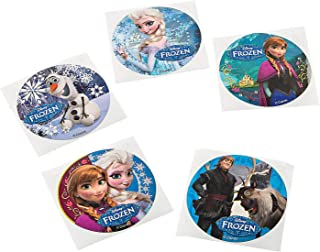 Fun Express - Disney Frozen Movie Stickers (100pc) for Birthday - Party Supplies - Licensed Tableware - Misc Licensed Tableware - Birthday - 100 Pieces