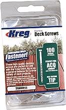 Best concealed decking screws Reviews
