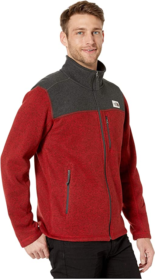 Cardinal Red Heather/TNF Dark Grey Heather