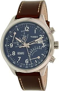 Men's Intelligent TW2P78800 Brown Leather Analog Quartz Watch
