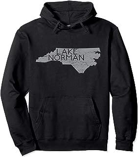 LKN Lake Norman North Carolina State Hoodie Distressed Gift