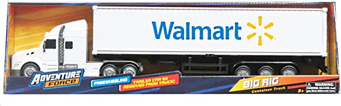 Adventure Force Big Rig FreeWheeling Walmart Hauler Container Truck