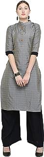DEIDAD Women's Silk Readymade Salwar Suit