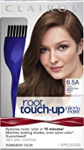 Clairol Nice 'n Easy Root Touch-Up, 6.5A Lightest Cool Brown, Permanent Hair Color, 1 Kit (PACKAGING MAY VARY)
