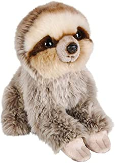 Wildlife Tree 7 Inch Sloth Stuffed Animal Plush Sitting Animal Kingdom Collection