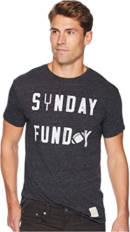 Sunday Funday Vintage Tri-Blend Short Sleeve T-Shirt