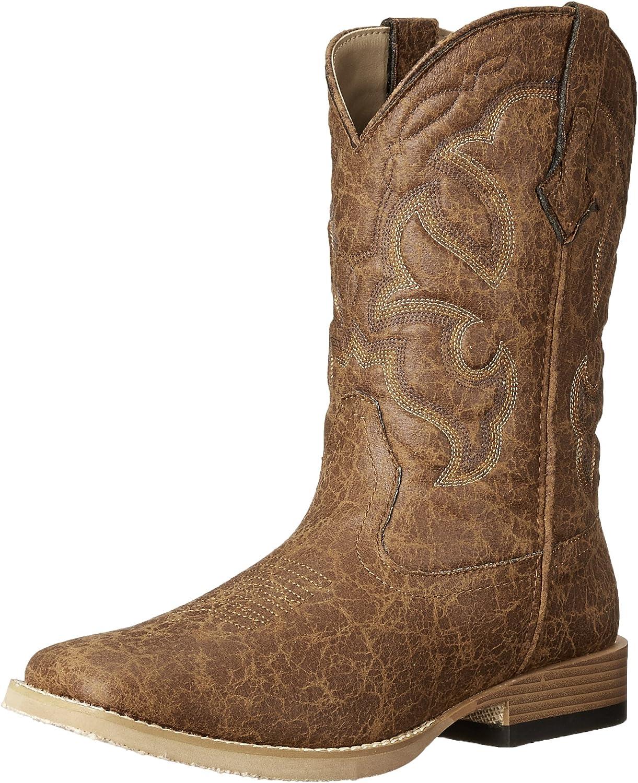 Roper Men's Vintage Square Toe Western Boot