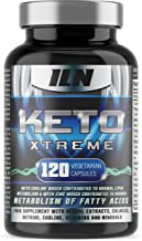 Keto Xtreme – Supplement for Ketogenic Diet – with Zinc for Metabolism of Fatty Acids – Full 1 Month Course 120 Vegetarian Capsules Estimated Price : £ 17,97