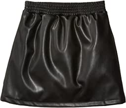 Faux Leather Skirt (Big Kids)