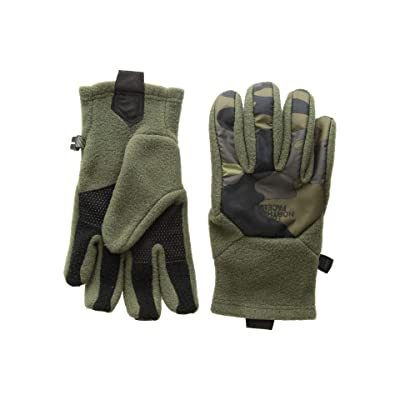 The North Face Kids Denali Etiptm Gloves (Big Kids) (New Taupe Green/Camo Print) Extreme Cold Weather Gloves