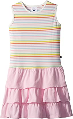 Rainbow Ruffle Tank Dress (Toddler/Little Kids/Big Kids)