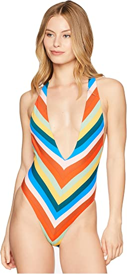 Palm Springs Plunge One-Piece Swimsuit