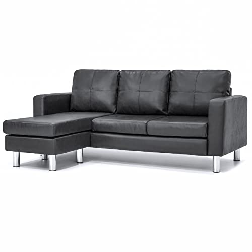 Leather L Shape Couch: Amazon.com