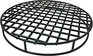 Walden Fire Pit Grate Round - Premium Heavy Duty Steel Grate for Outdoor Firepits - Above Ground Fire Grate (29.5