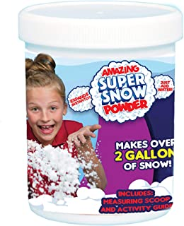 Be Amazing! Toys Amazing Grow Snow Jar, Makes 2 gallon