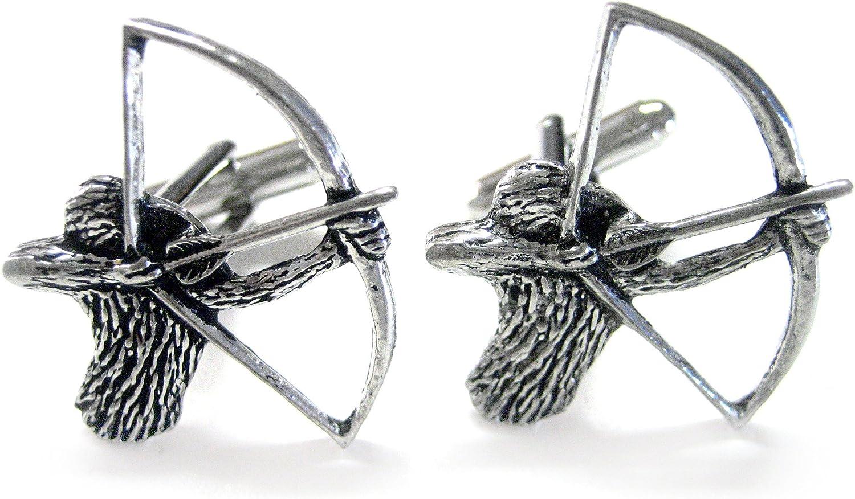 Kiola Designs Archery Cufflinks