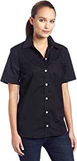 Dickies Womens Short Sleeve Stretch Poplin Shirt