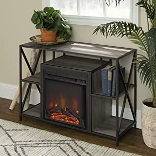 WE Furniture Fireplace TV Stand, 40