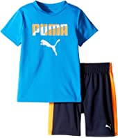 Puma Kids - PUMA® Two-Piece Shorts & Tee Set (Toddler)