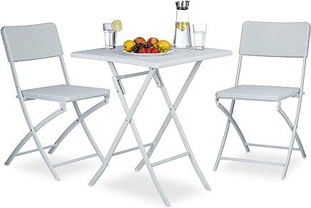 Amazon.fr : chaise blanche - Rotin / Meubles / Ameublement et ...