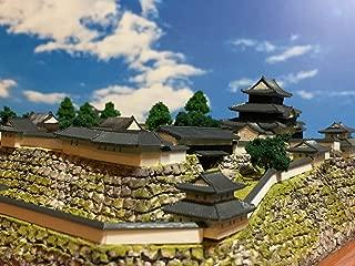 日本100名城 白河小峰城 模型 ジオラマ完成品 B5