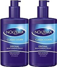 Noxzema Clean Moisture Deep Cleansing Cream, 8 Ounce Pump (2 Pack)