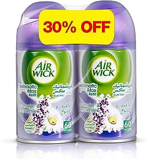 Air Wick Air Freshener Freshmatic Refill, Lavender - Chamomile, 250ml Twin Pack
