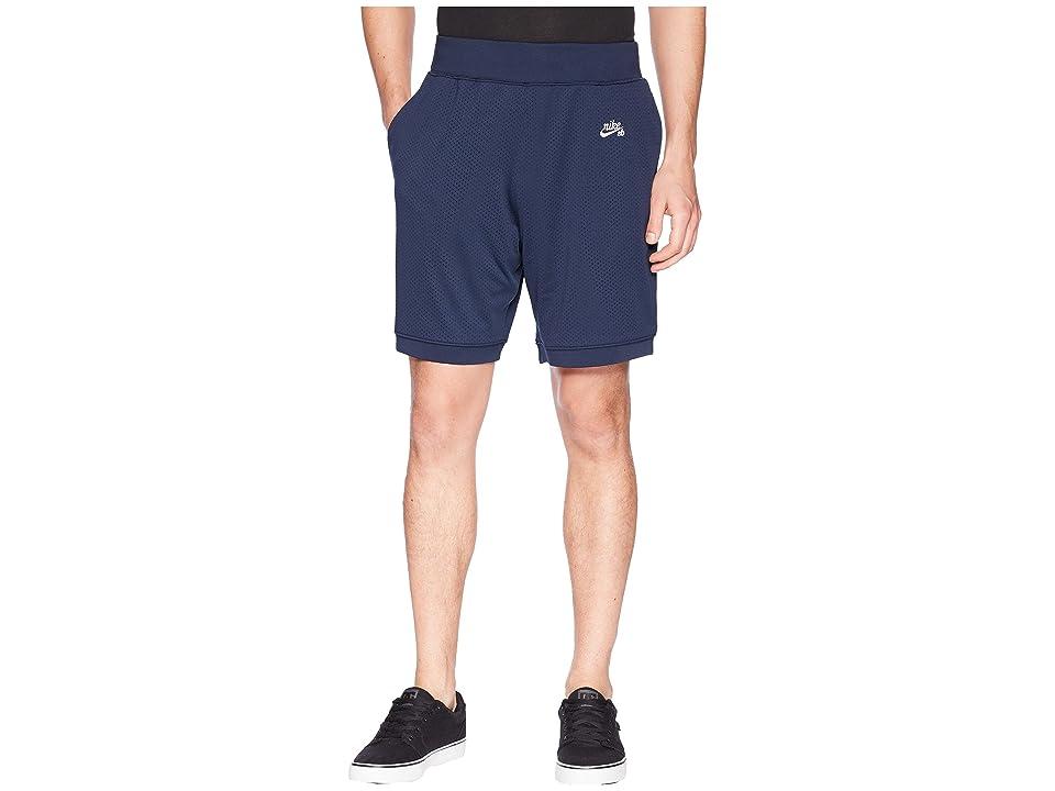 Nike SB SB Dry Shorts Court Heritage (Obsidian/White) Men