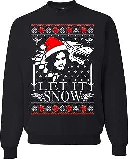 let it snow jon snow sweatshirt