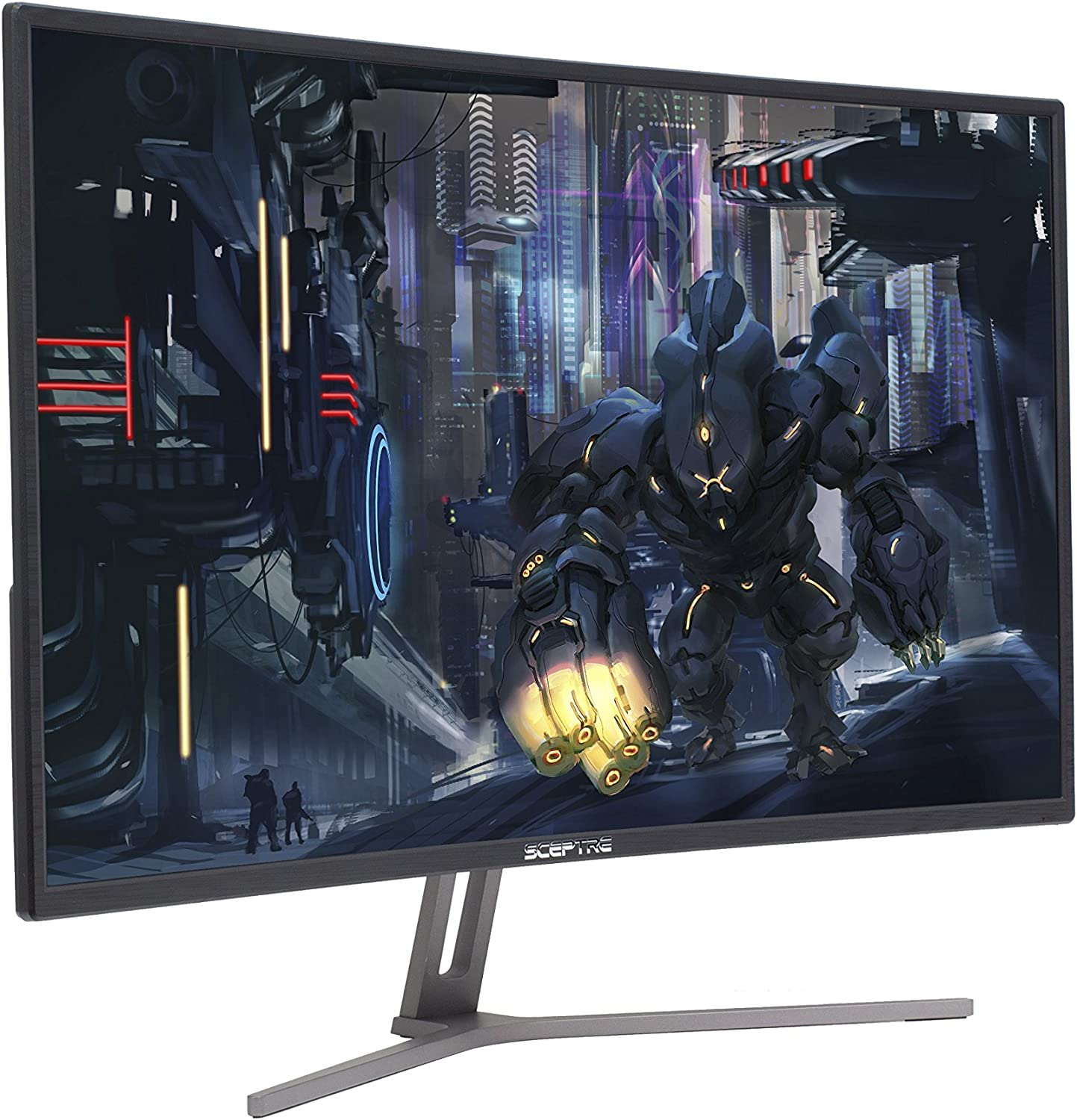 Sceptre C325B-144R 32″ 144Hz 1800R Curved Gaming Monitor with AMD FreeSync