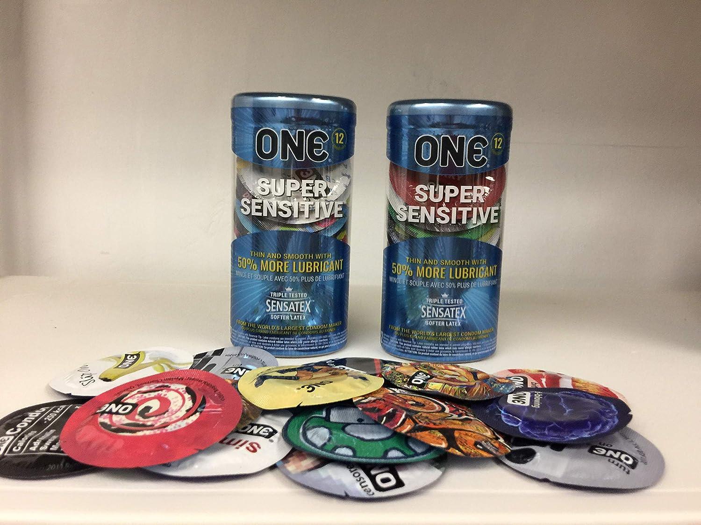 Kansas City Mall One Condoms Super Sensitive Fashion 12-Pack