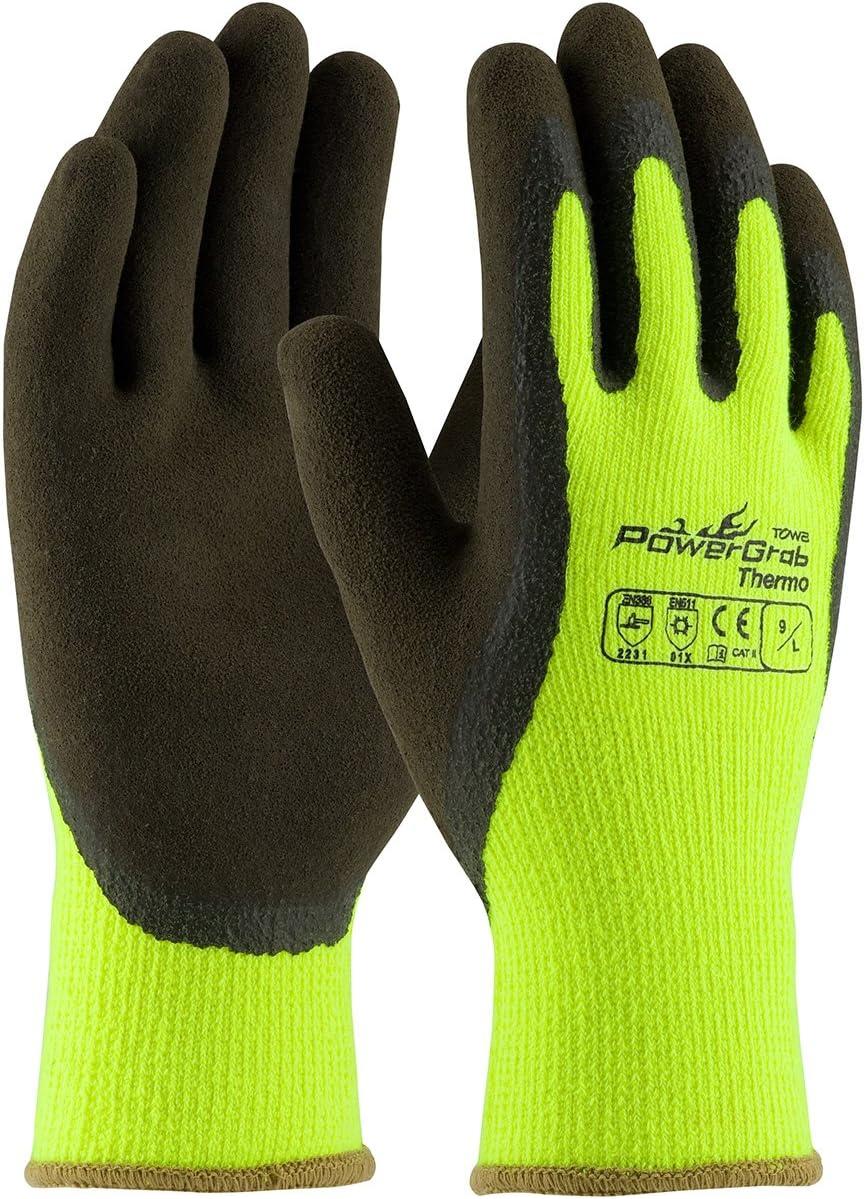 PIP 41-1405 Powergrab Thermo Hi Vis Gloves San Jose Mall Green Coated La El Paso Mall Latex
