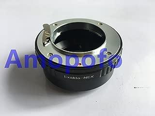Amopofo EXA-NEX for Exakta Lens to Sony NEX 5R F3 7 A7S A7R A7II A6300 VG40 EXA-NEX