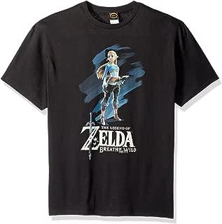 Nintendo Men's Breath of The Wild Zelda Paint T-Shirt