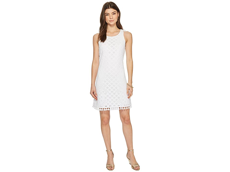 Lilly Pulitzer Marquette Shift (Resort White Pineapple Geo Lace) Women