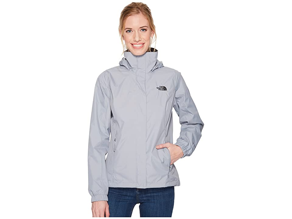 The North Face Resolve 2 Jacket (Mid Grey/TNF Black) Women