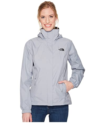 The North Face Resolve 2 Jacket (Mid Grey/TNF Black) Women