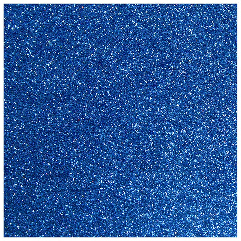Anita and Her World 37111430 Scrapbooking Cardstock, Colour, 250 g, Blue Glitter 12 x 12 Inches