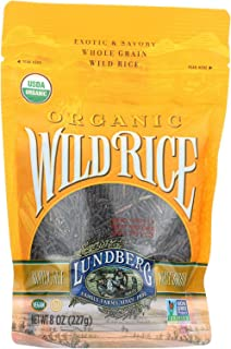 Lundberg Farms Organic Wild Rice, 8 Ounce - 6 per case.