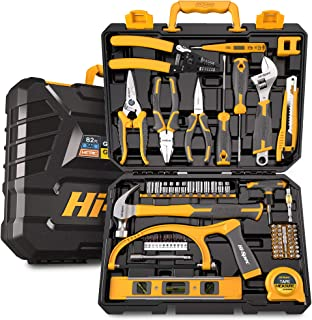Hi-Spec 82 Piece Home & Garage Tool Kit Set. Full Set of Complete Repair & Maintenance Hand Tools for The Household, Offic...