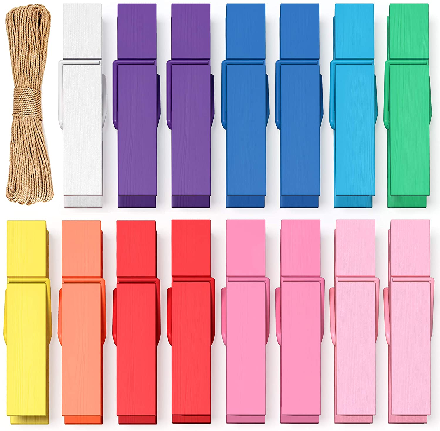 Mini Clothes Pins Seasonal Wrap Introduction for Photo Colored shopping Pack Clothespins 100 Small
