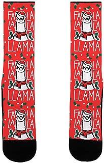 Falalala Llama US Size 7-13 Socks